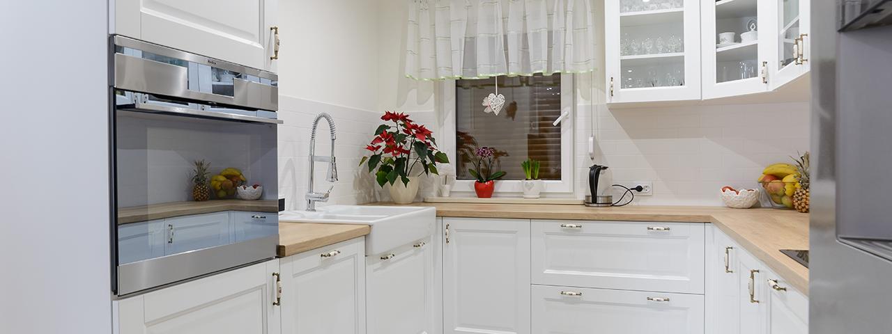 Meble kuchenne na wymiar w domu w Łabędach